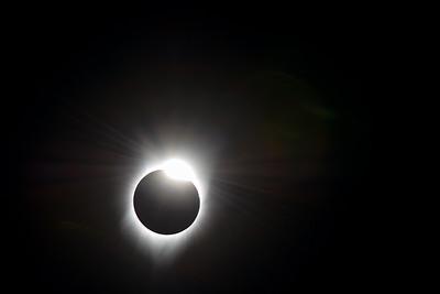 Solar Eclipse In Stayton OR 2017