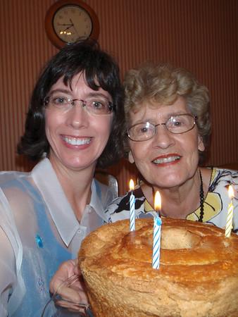 Mom's 78th Birthday - 2011