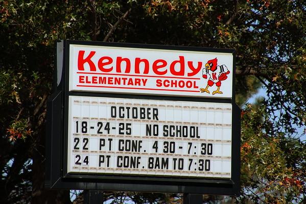 Kennedy Elementary Halloween Parade  103119