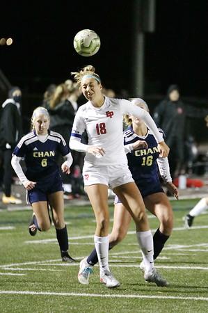 Chan Girls' Soccer vs. Eden Prairie  10-14-20