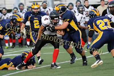 2011 Clarkston JV Football vs. Troy