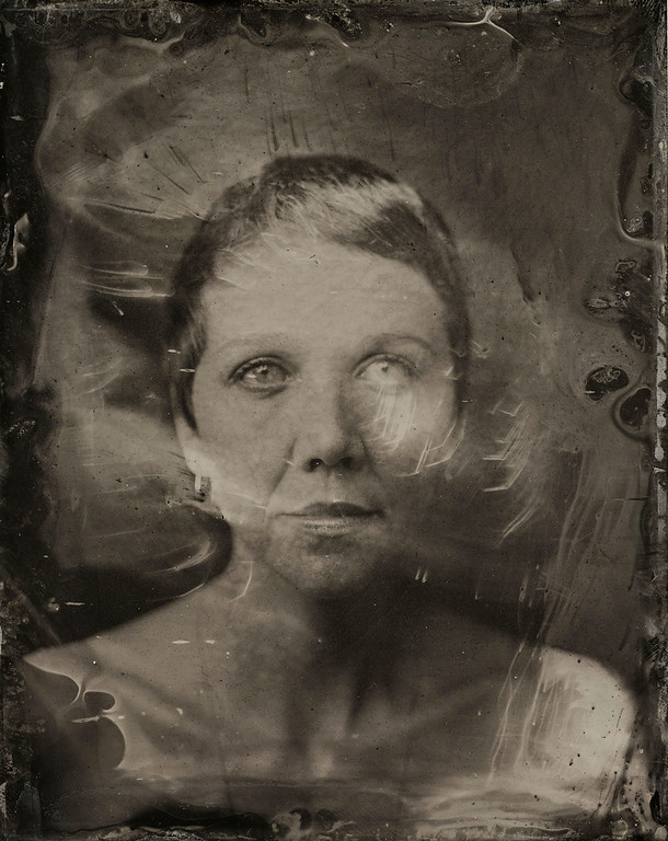. Maggie Gyllenhaal poses for a tintype (wet collodion) portrait at The Collective and Gibson Lounge Powered by CEG, during the 2014 Sundance Film Festival in Park City, Utah. (Photo by Victoria Will/Invision/AP)