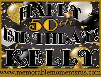 Kellys 50th Birthday