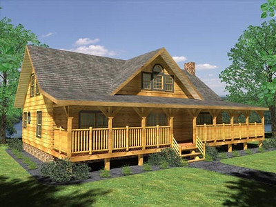 Log Home of the Month