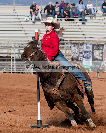 2018 Junior High Rodeo (Friday) - Pole Bending
