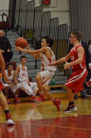BJV Basketball vs Massena 12-23-15