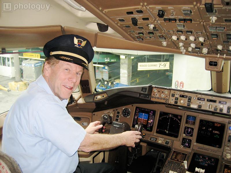 Dad Flys to Maui