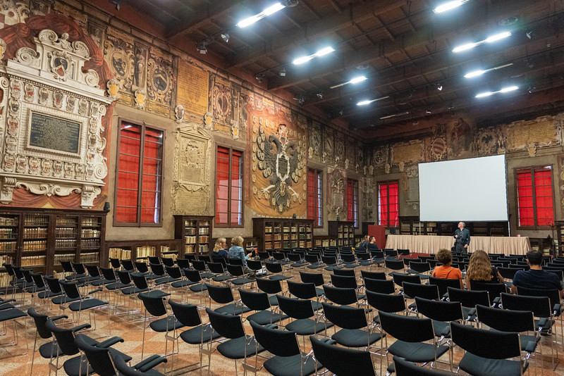 Stabat Mater lecture hall in Bologna