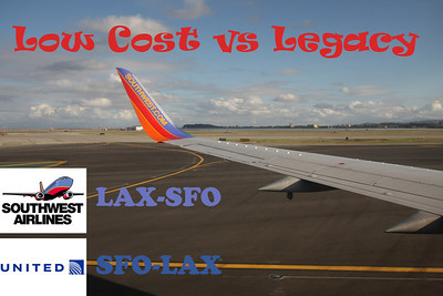 Low Cost (WN) vs Legacy (UA) (2010)