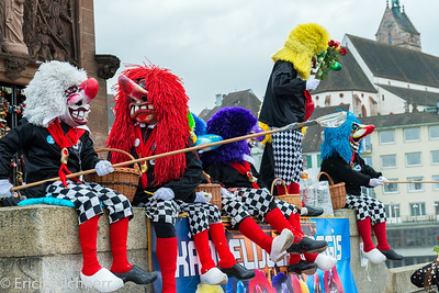 Carneval, Basel, Switzerland, 2018
