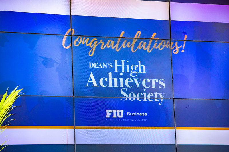 7/27/19 FIU Business High Achievers