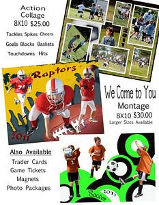 Sports Flyer Back Page