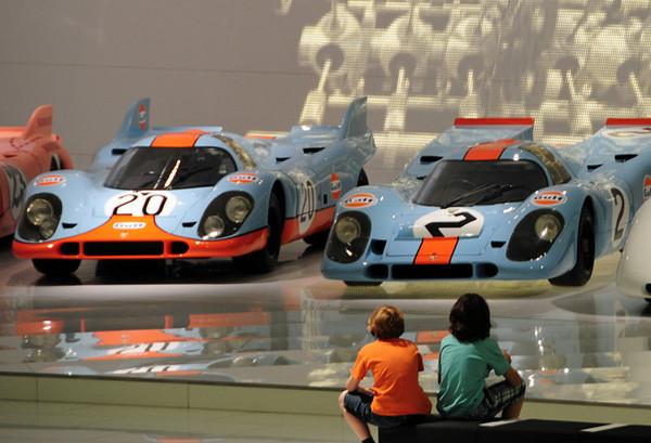 Porsche & Mercedes Museums