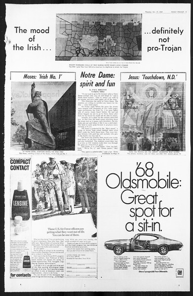 Daily Trojan, Vol. 59, No. 22, October 17, 1967