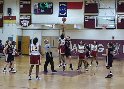 12/03/2009 BHS Girls JV Basketball - Butler @ Harding
