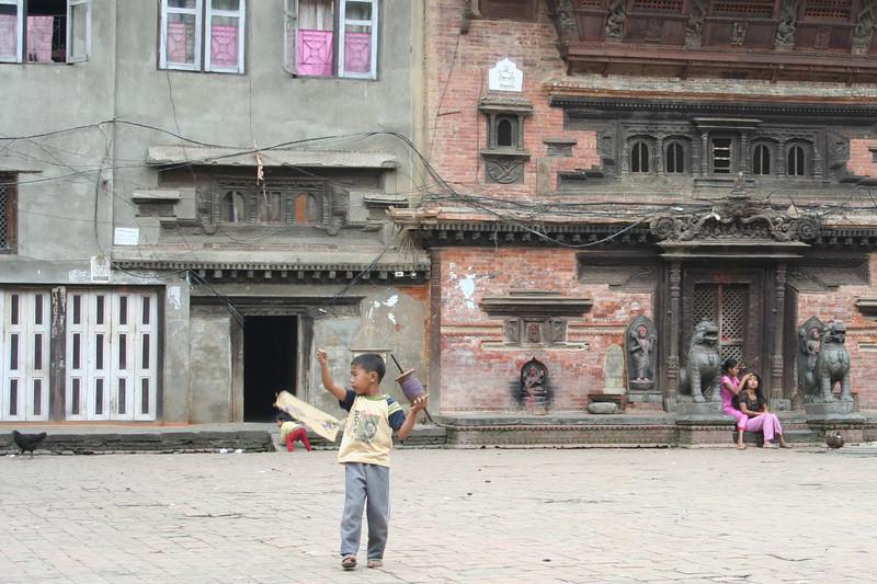 kites are everywhere in kathmandu