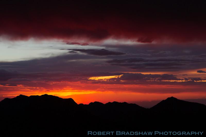 Sunset from Guardsman Pass