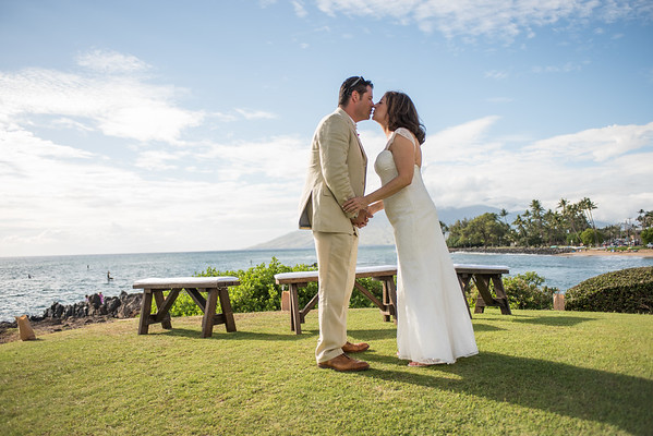 Dave and Caty in Maui