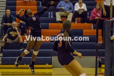 Volleyball - Varsity: Stone Bridge vs Briar Woods 10.21.14 (by Jamie Miley)