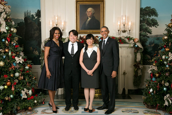 2014 White House Holiday Party