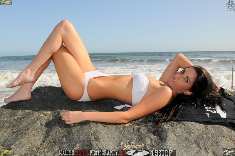 beautiful woman sunset beach swimsuit model 45surf 751.