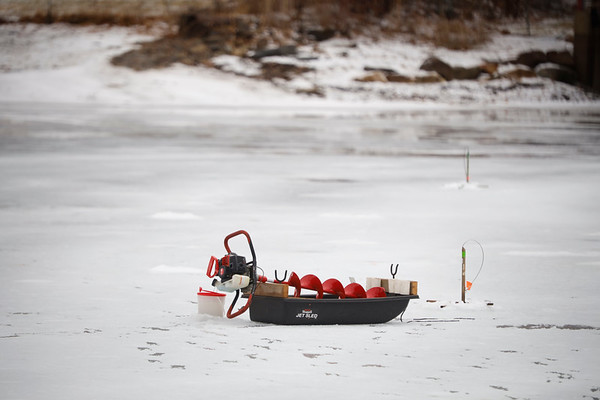 Ice Fishing at Goose Pond-010221