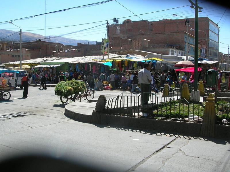 Market day in Huaraz