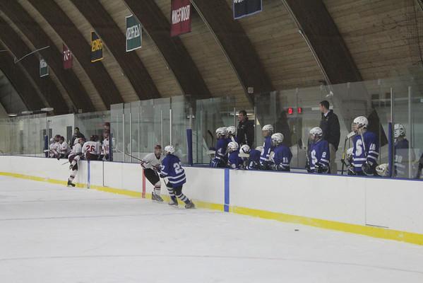 Wildcats JV hockey vs East Hampton 12-28-11