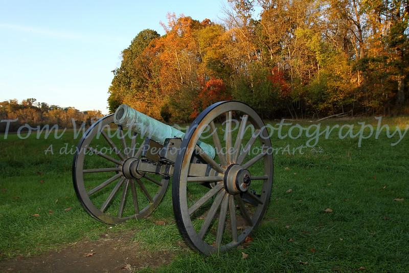 Canon at Antietam National Battlefield