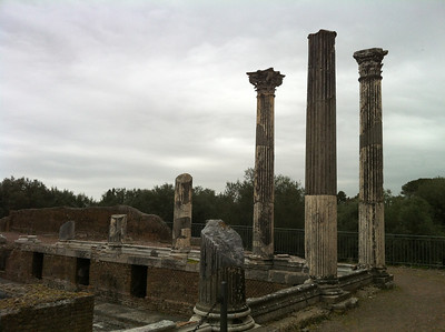 Hadrian's Villa, April 2013