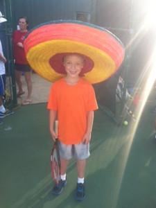 Tennis Camp Crazy Hat Wednesday