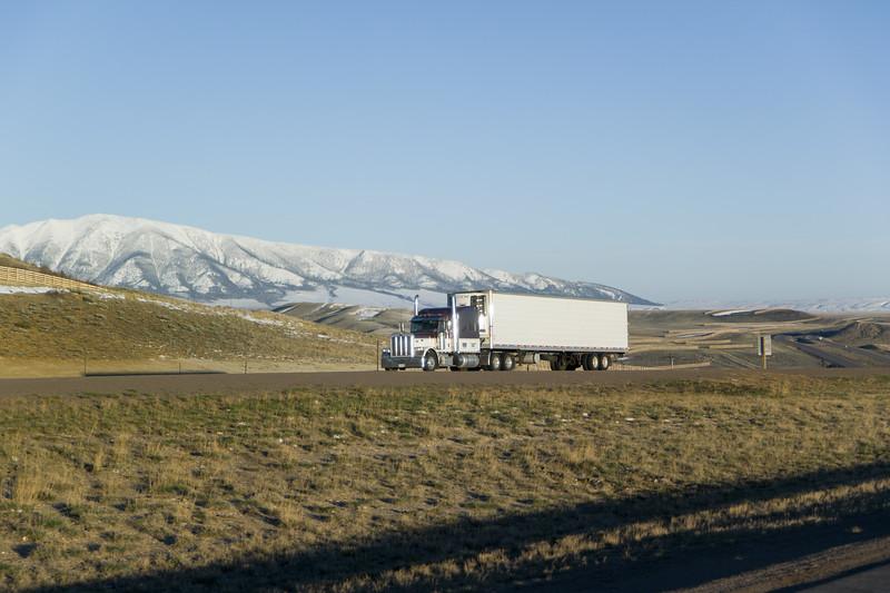 Wyoming I-80 Elk Mountain