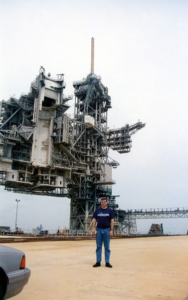 Visit to Pad 39a in 1998.