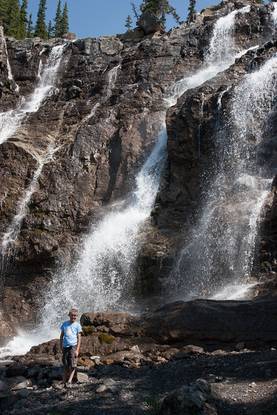Henry at Tangle Falls