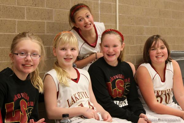 Cougars 5B Basketball 2012