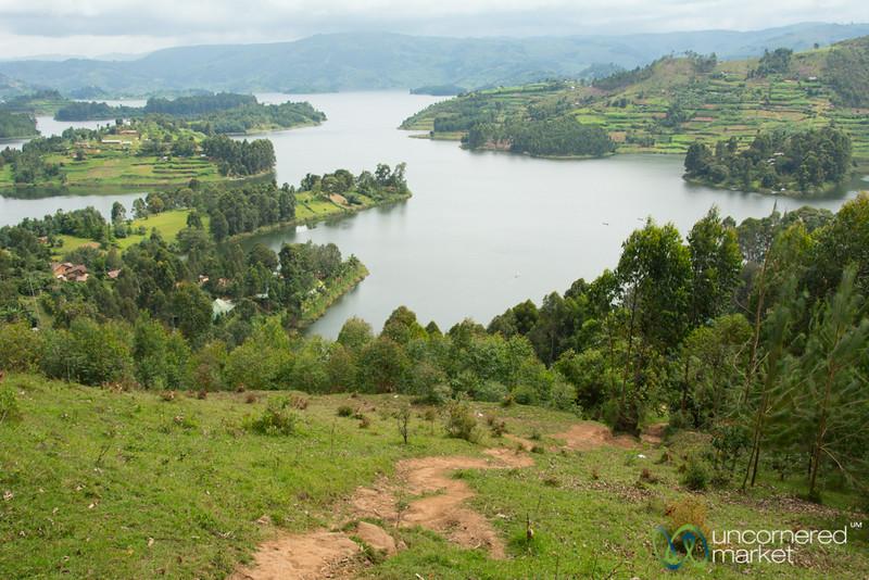 Trekking Above Lake Bunyonyi, Uganda