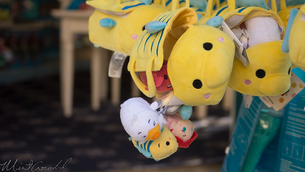 Disneyland Resort, Tsum Tsum, Plush, Little Mermaid, Little, Mermaid