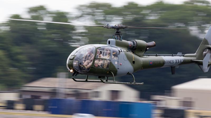 Gazelle, HT.2, RIAT 2015, The Gazelle Squadron, Westland, XX436