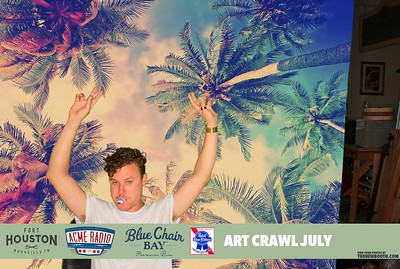 Fort Houston art crawl july