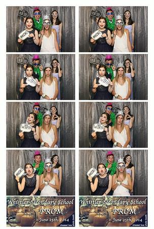 Whistler Secondary 2014 Prom