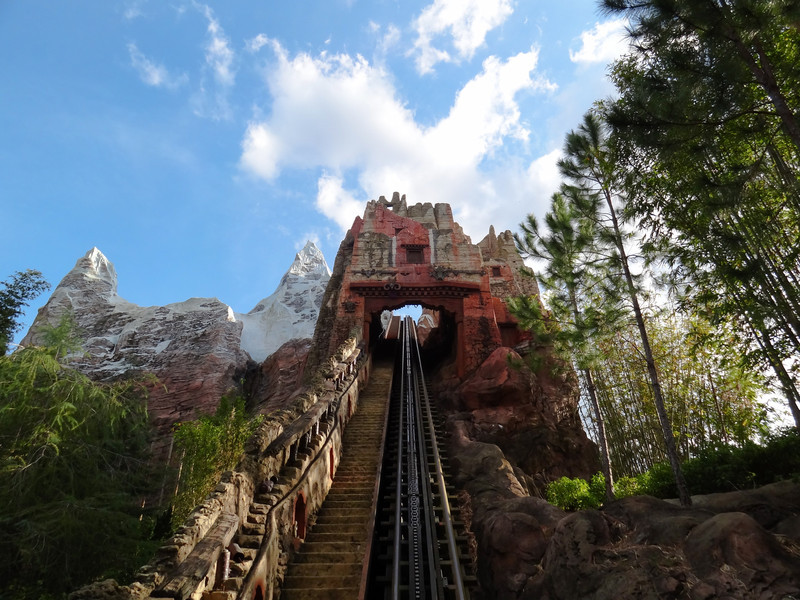 Riding Expedition Everest