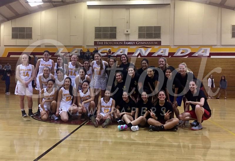 Girls BB team and Alumni 100.jpg