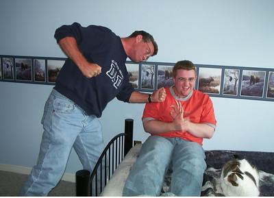 The Ferguson Men Goof Around - 2002