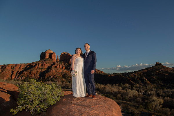 Courtney & Ryan's Sedona Wedding