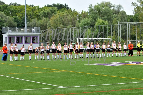 Washington and Jefferson vs Nazareth College Field Hockey 2012