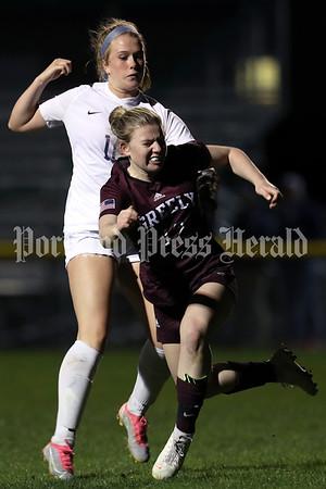 Girls' soccer: York at Greely
