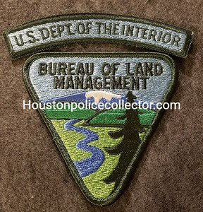 Dept of the Interior BLM