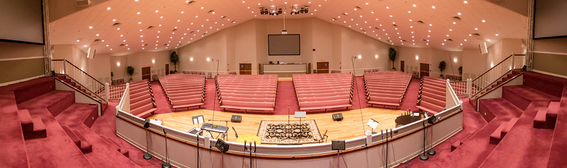 FRBC Auditorium - Empty