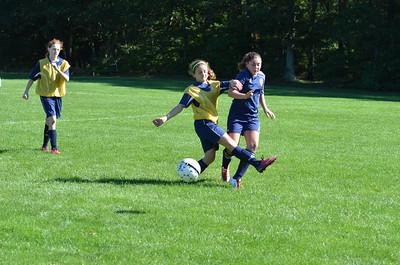 2013.09.14 U13 Girls Soccer vs Walpole