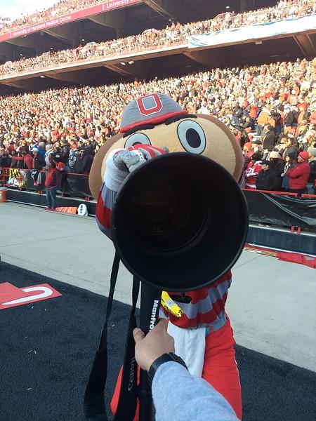 Brutus stole my camera!